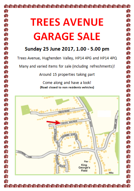 Trees Av Garage sale on 25/6/2017