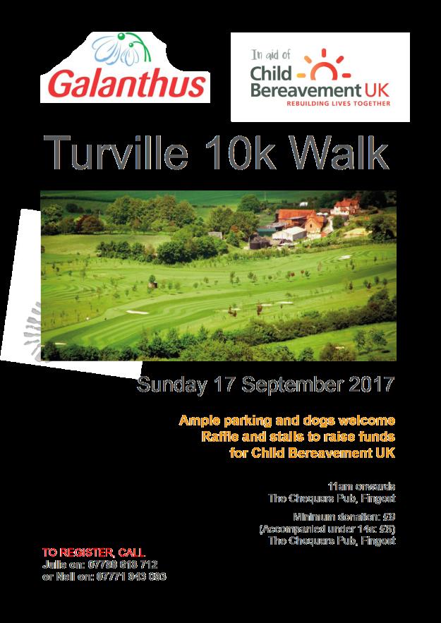 Galanthus Turville Walk poster 2017