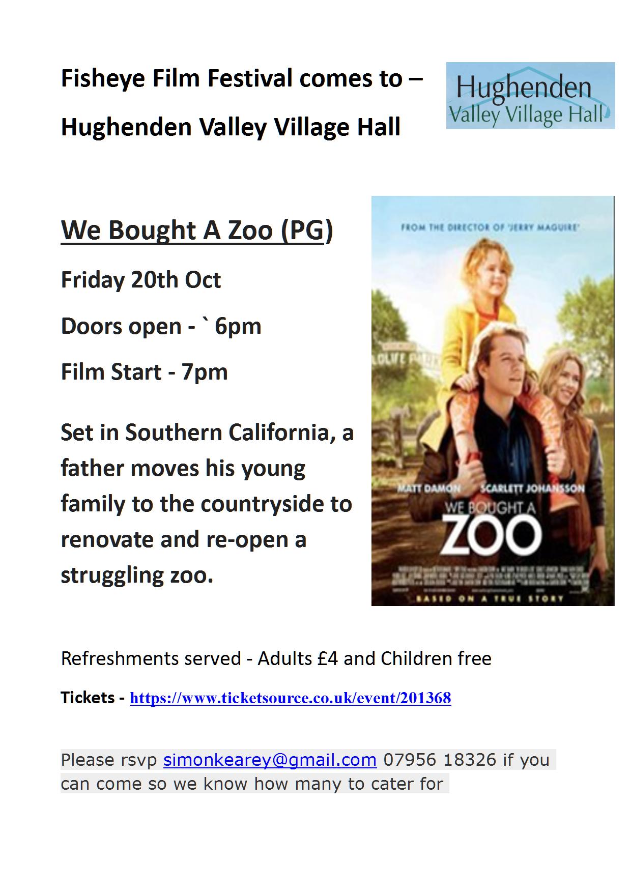 Hughenden Flyer - We Bought a Zoo