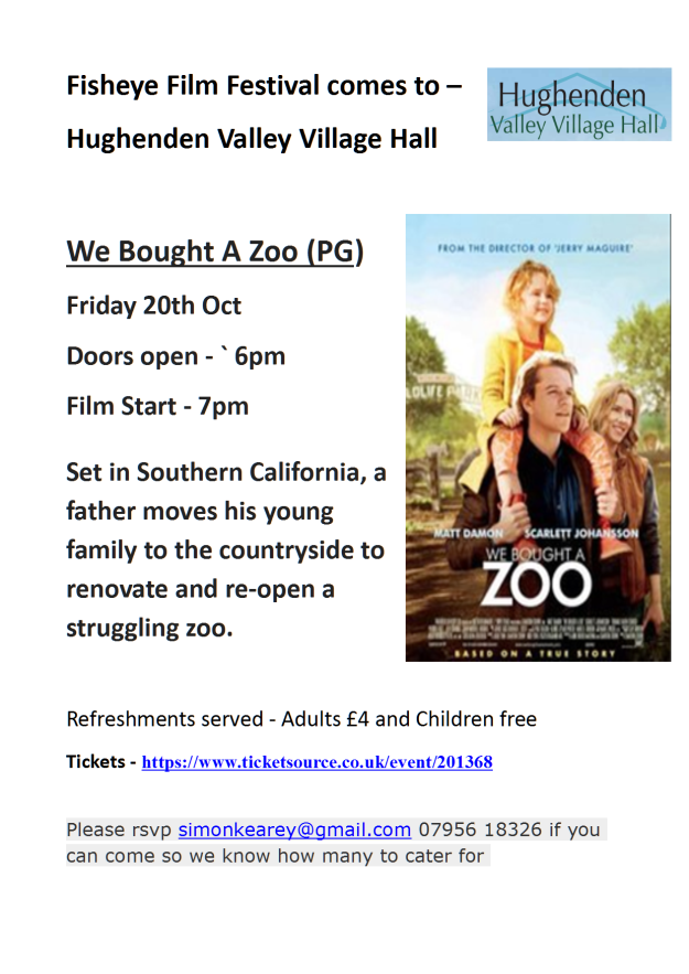 Hughenden Flyer - We Bought a Zoo