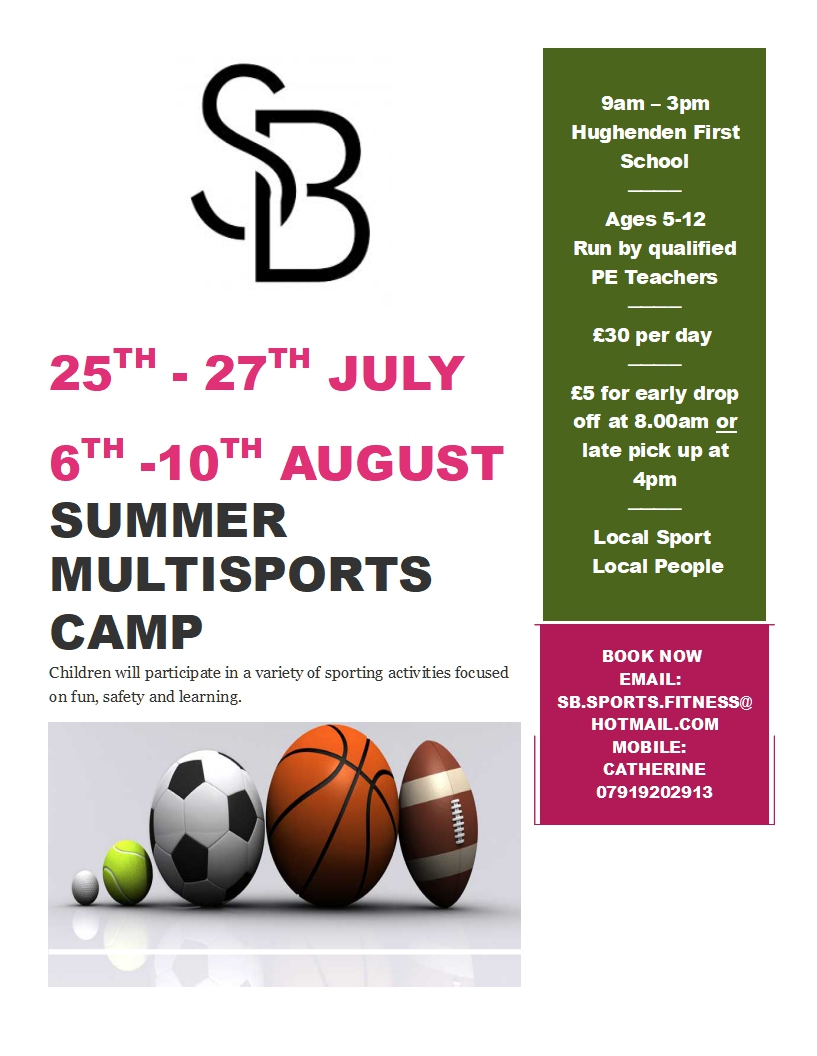 flyer for camps 2018