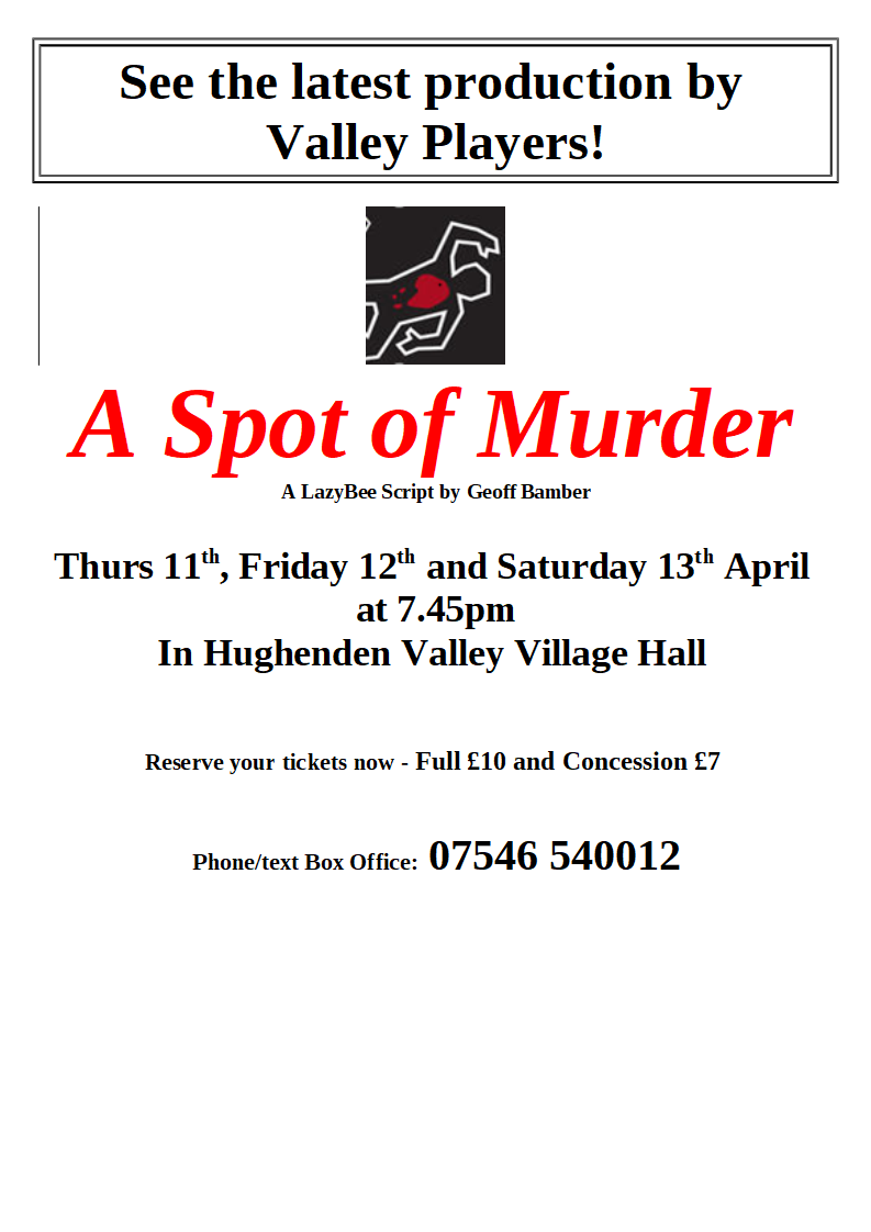 A Spot of Murder - coming soon