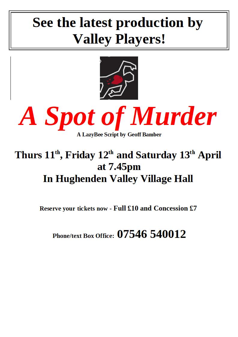 A Spot of Murder - coming soon